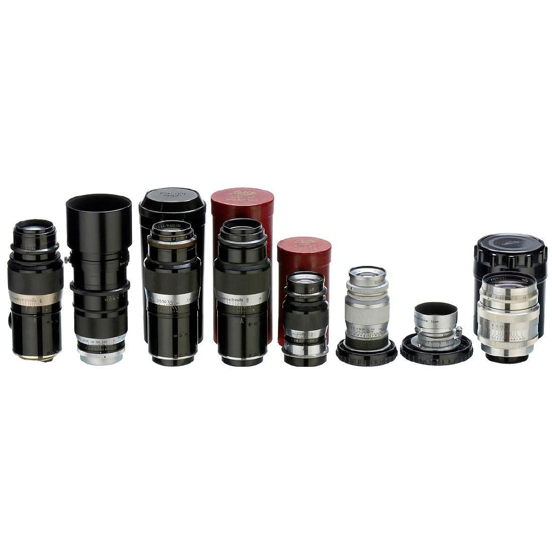 7 Leitz M39 Screw-Mount Lenses