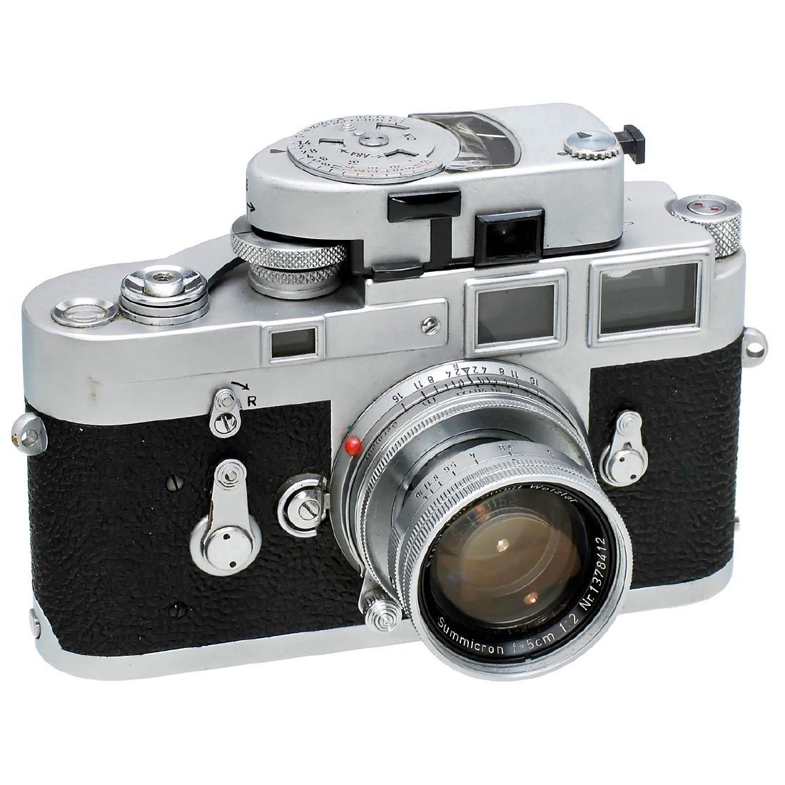 Leica M3 with Summicron 2/5 cm, 1962