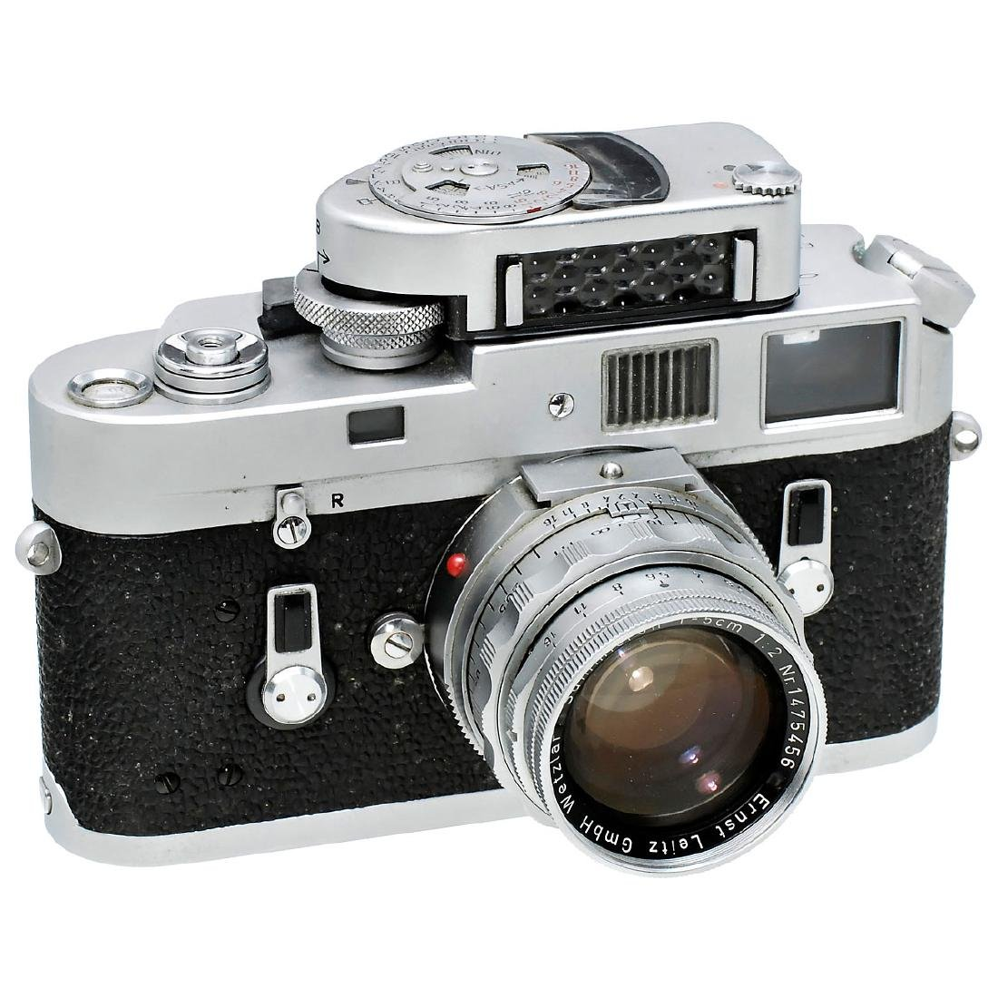 Leica M4 with Summicron 2/5 cm, 1967