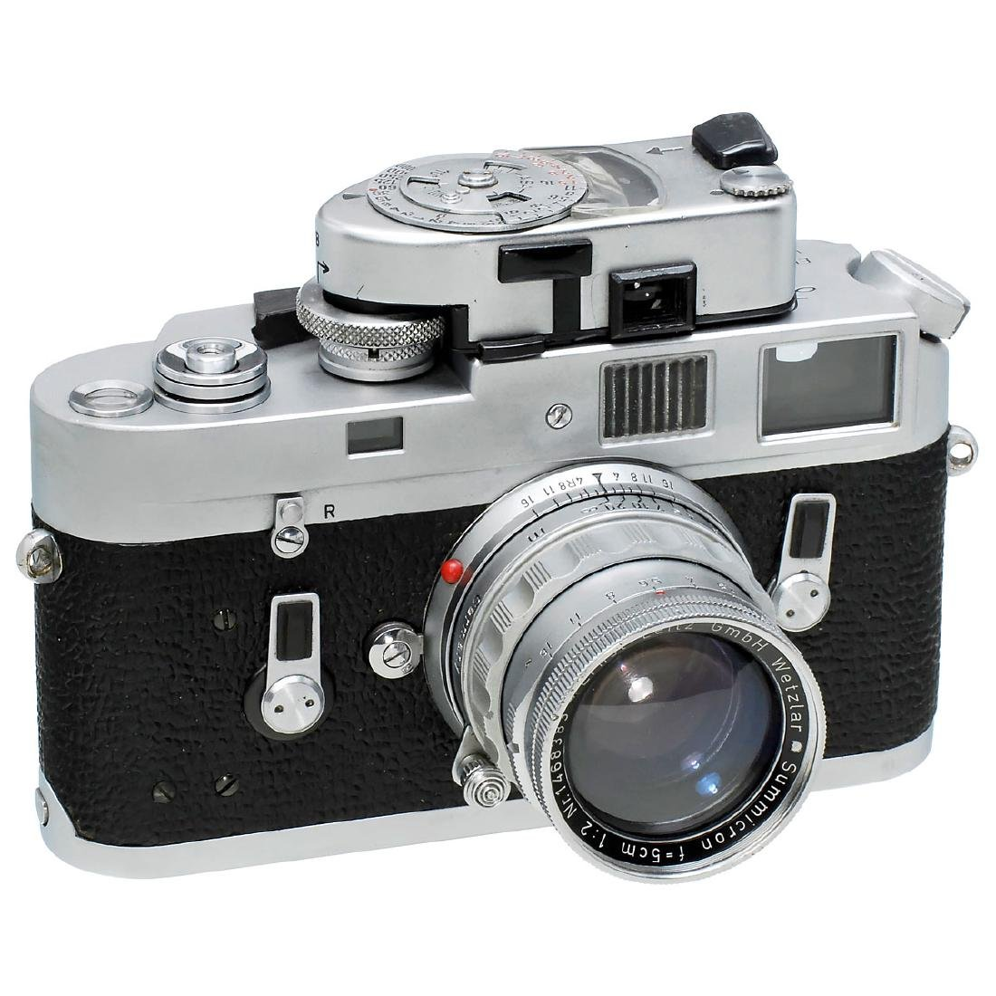 Leica M4 with Summicron 2/5 cm, 1968