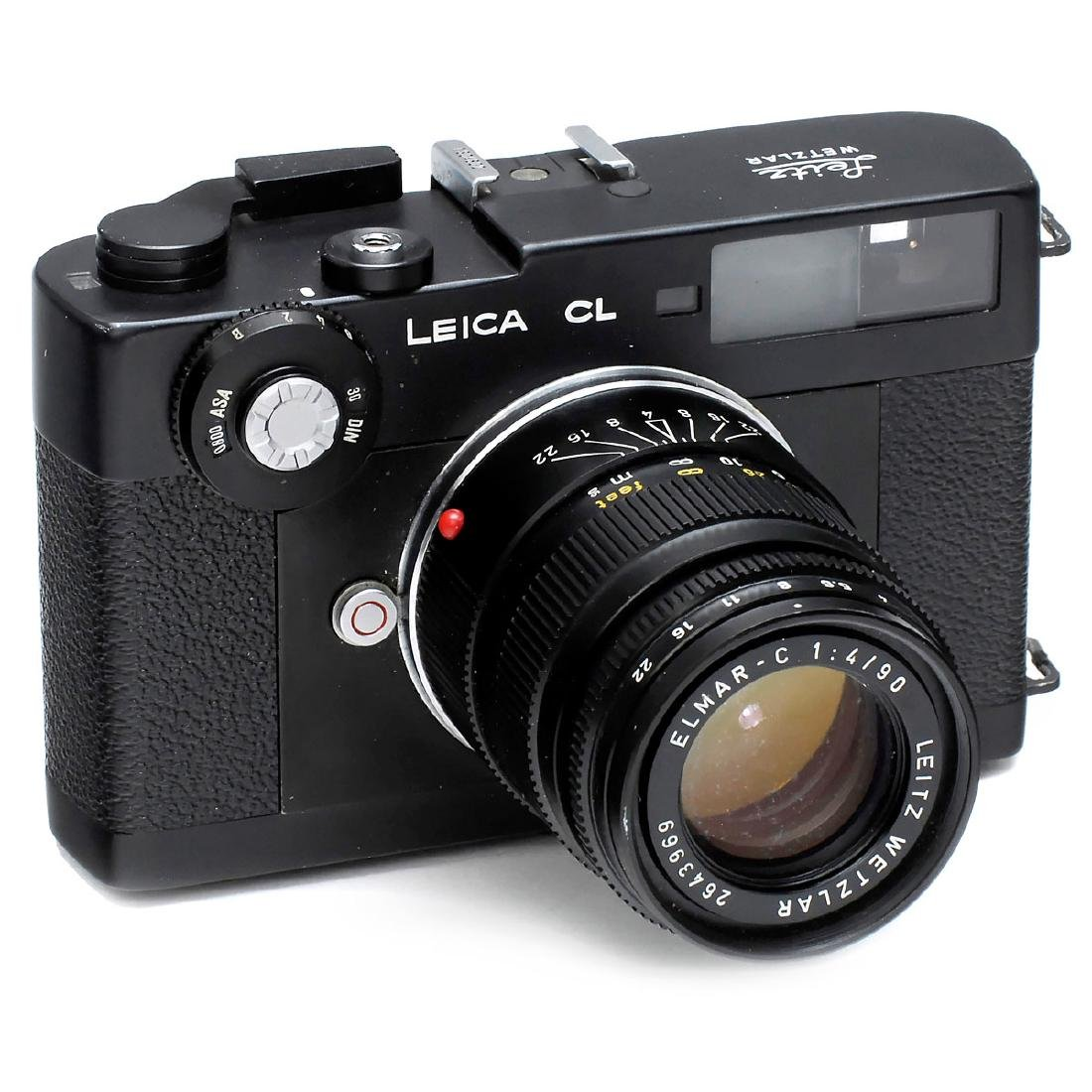 Leica CL with Elmar-C 4/90 mm, 1973