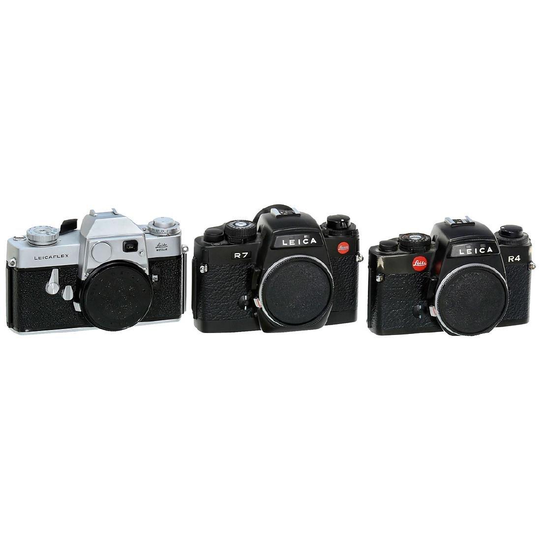 Leicaflex, Leica R4 and R7