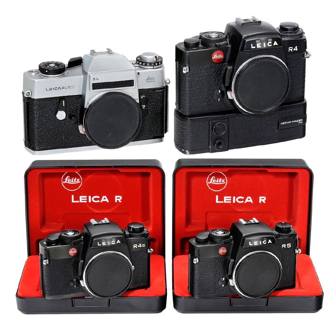Leicaflex SL, Leica R4, R4S and R5