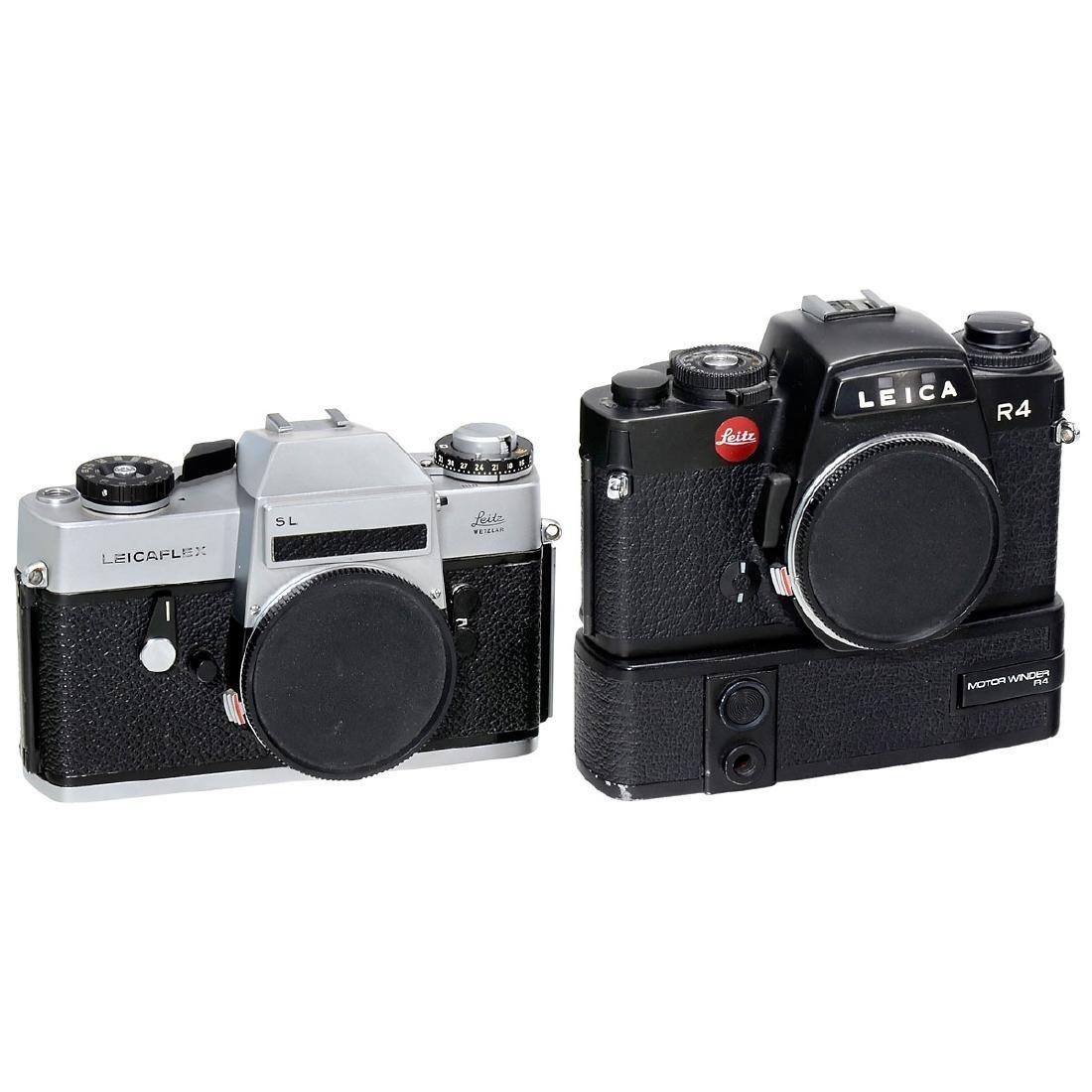 Leicaflex SL, Leica R4, R4S and R5 - 2