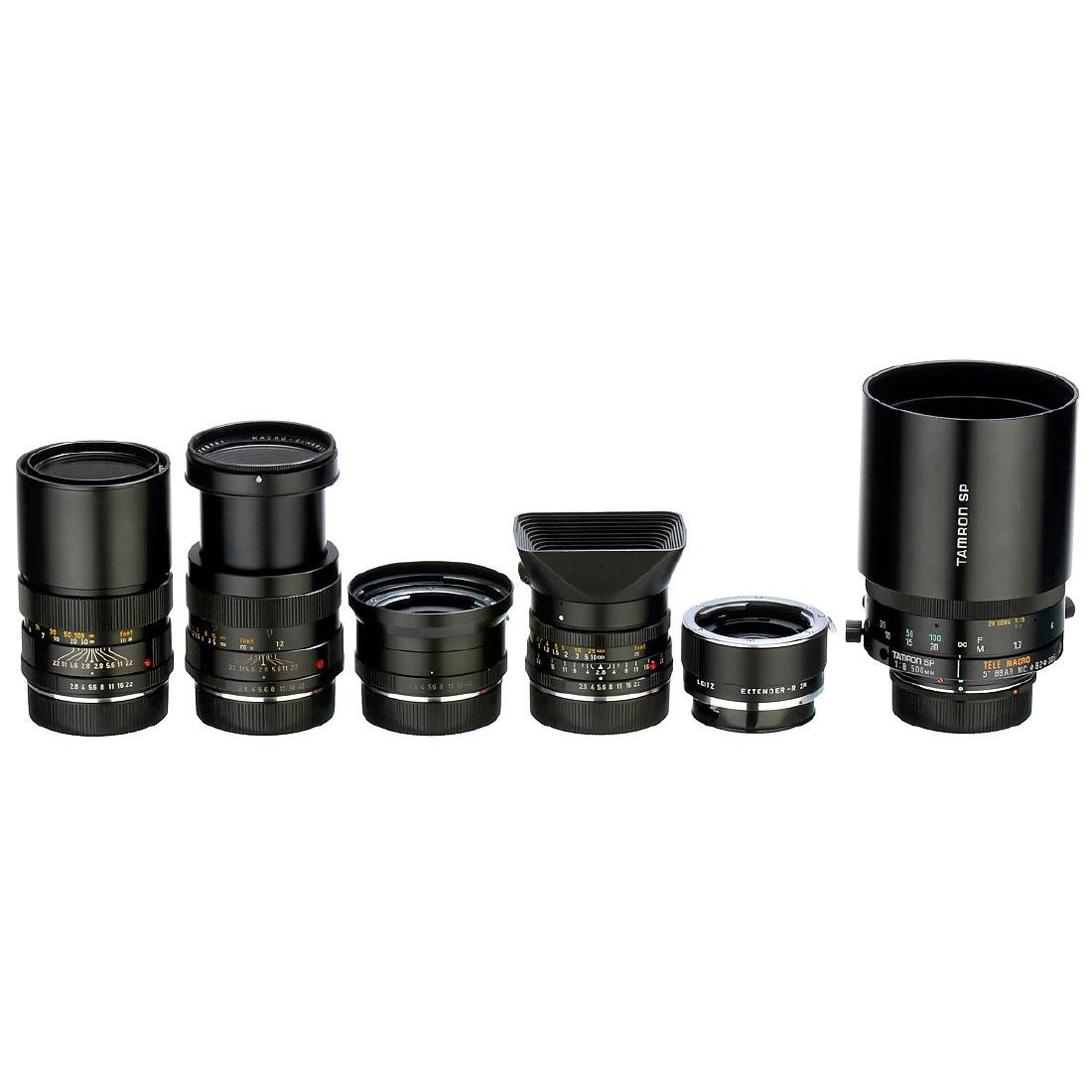 3 Leica R Lenses and more