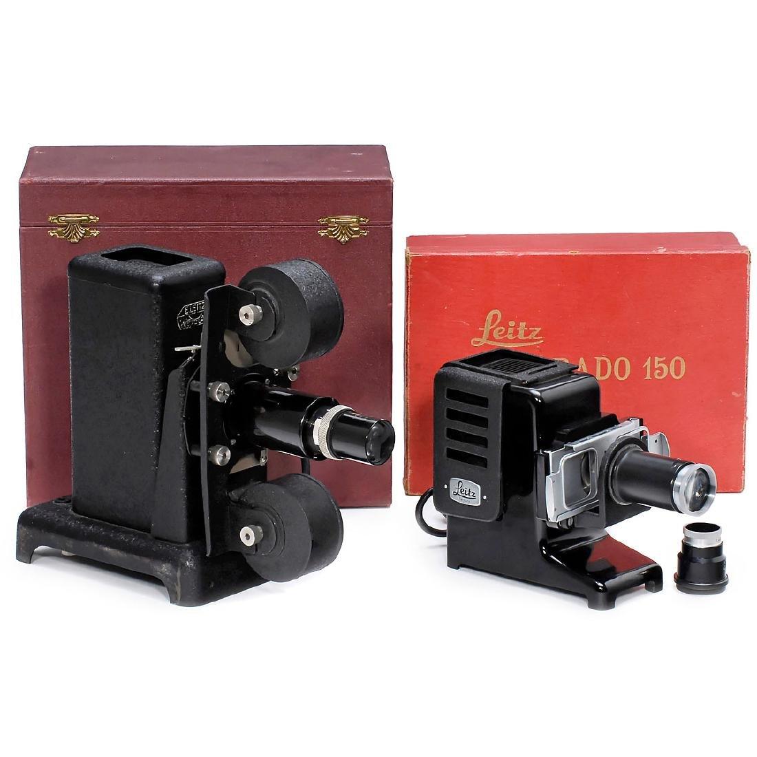 2 Leitz Slide Projectors (VIIIa and Prado 150)