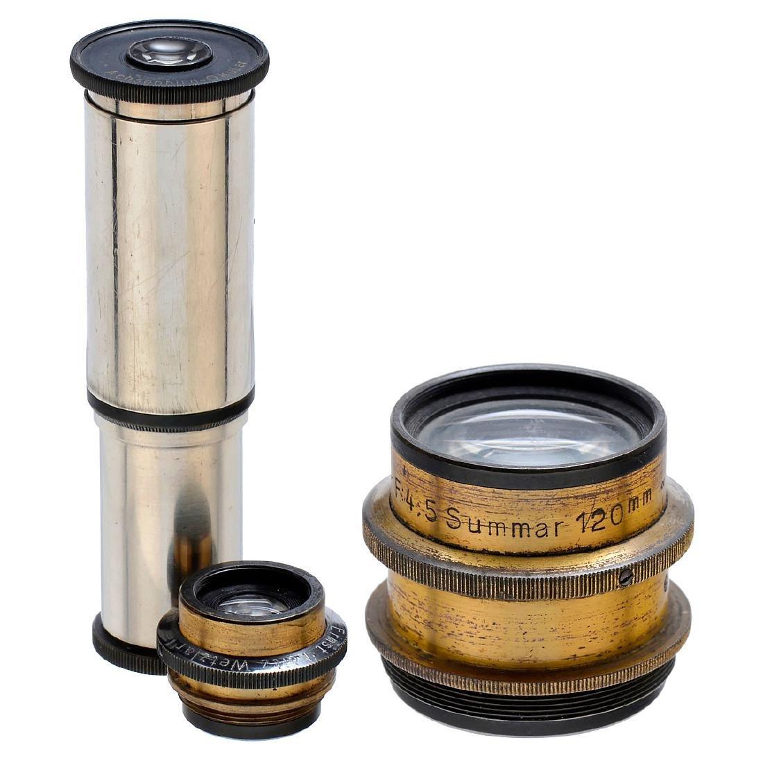 "Early Leitz ""Summar 4,5/120 mm"" Lens, c. 1905"