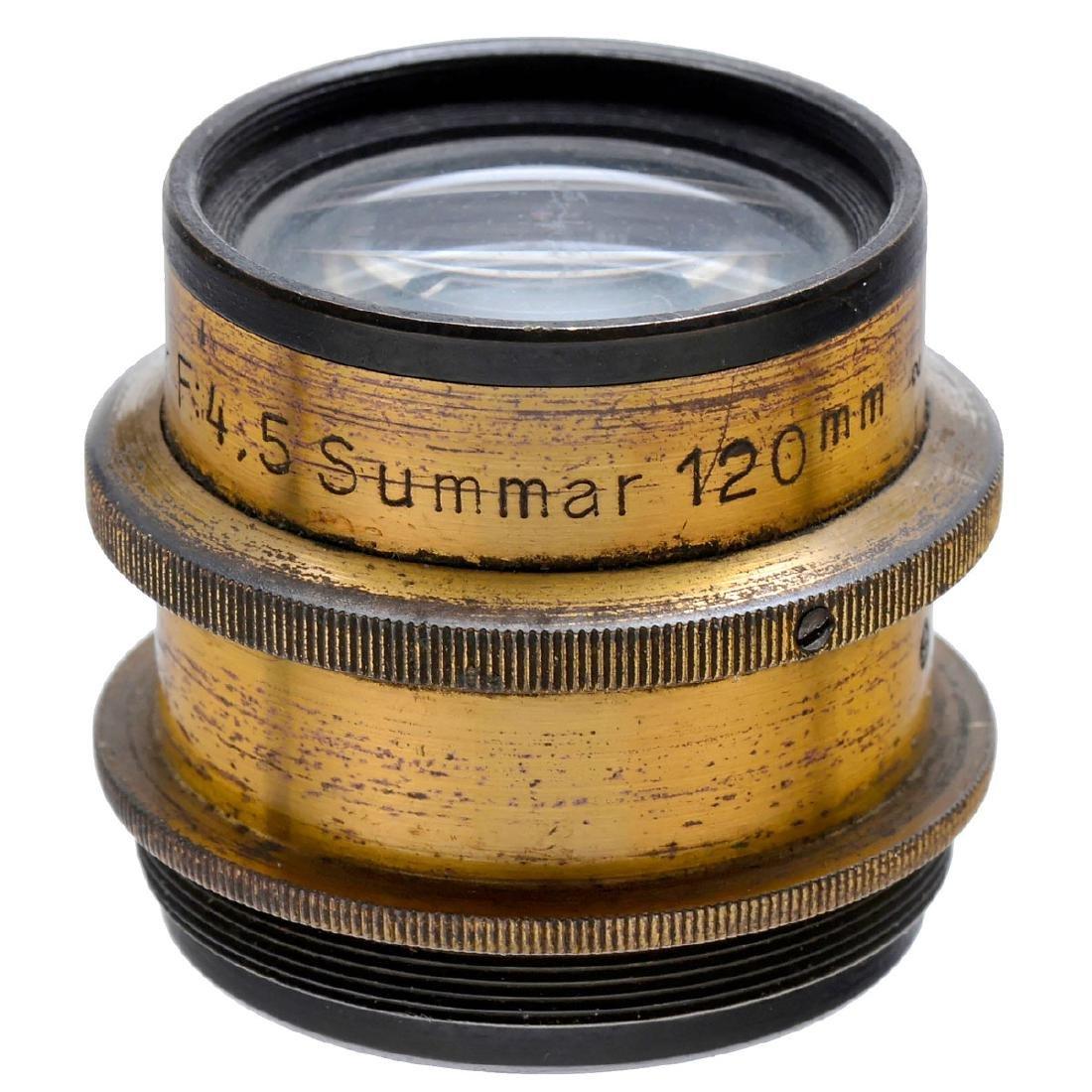 "Early Leitz ""Summar 4,5/120 mm"" Lens, c. 1905 - 2"