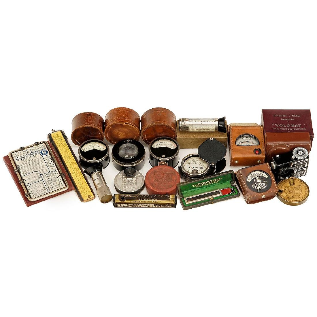 Large Group of Light Meters - 3
