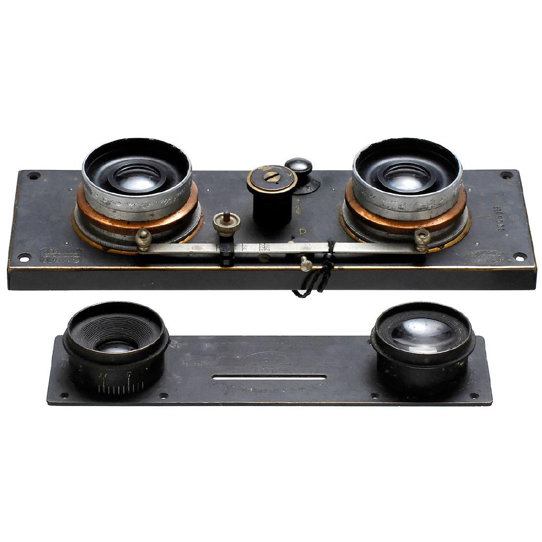 3 Pairs of Stereo Lenses, 1900–1925 - 3