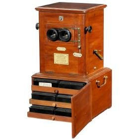 """""""Taxiphote"""" Table Stereo Viewer, c. 1910"""