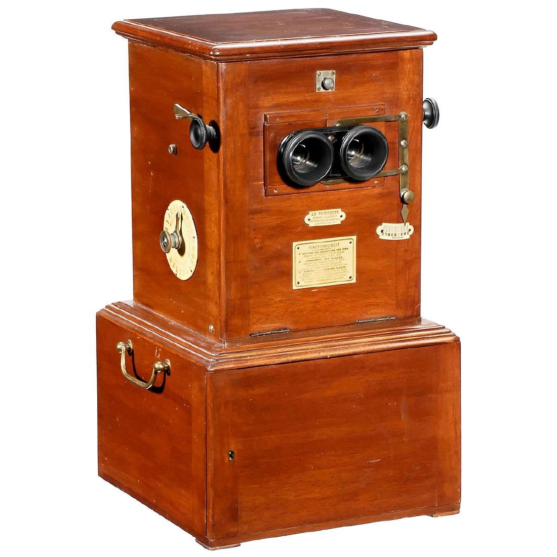 """Taxiphote"" Table Stereo Viewer, c. 1910 - 2"