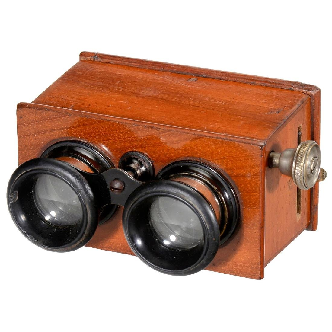 2 Hand Stereo Viewers (6 x 13 and 45 x 107), c. 1926 - 2