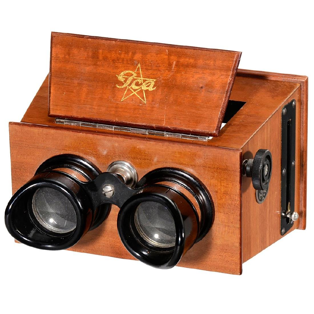 2 Hand Stereo Viewers (6 x 13 and 45 x 107), c. 1926 - 3