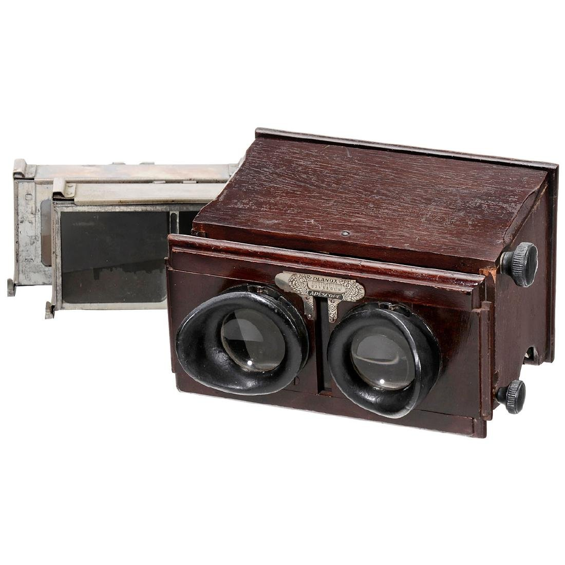 Planox Apescope 6 x 13 and 45 x 107, c. 1925
