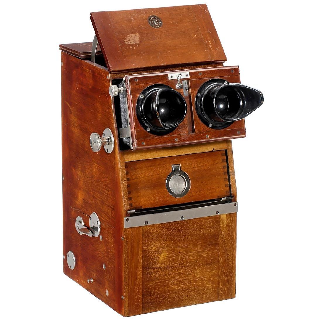 Ernemann Stereoscope (Magazin-Stereobetrachter), 45 x