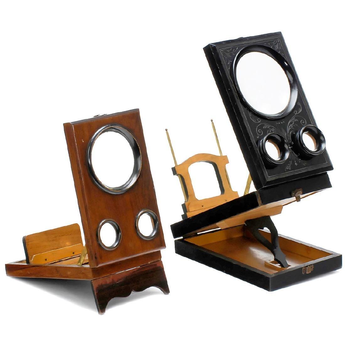 2 Small Stereo Graphoscopes