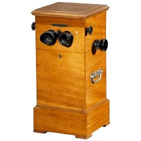 """Unis France"" Table-Top Stereo Viewer, c. 1920"