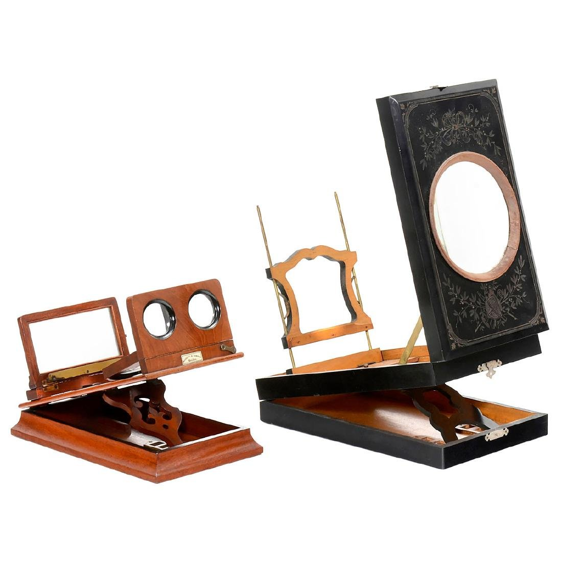 Stereo Graphoscope by Negretti & Zambra, c. 1880