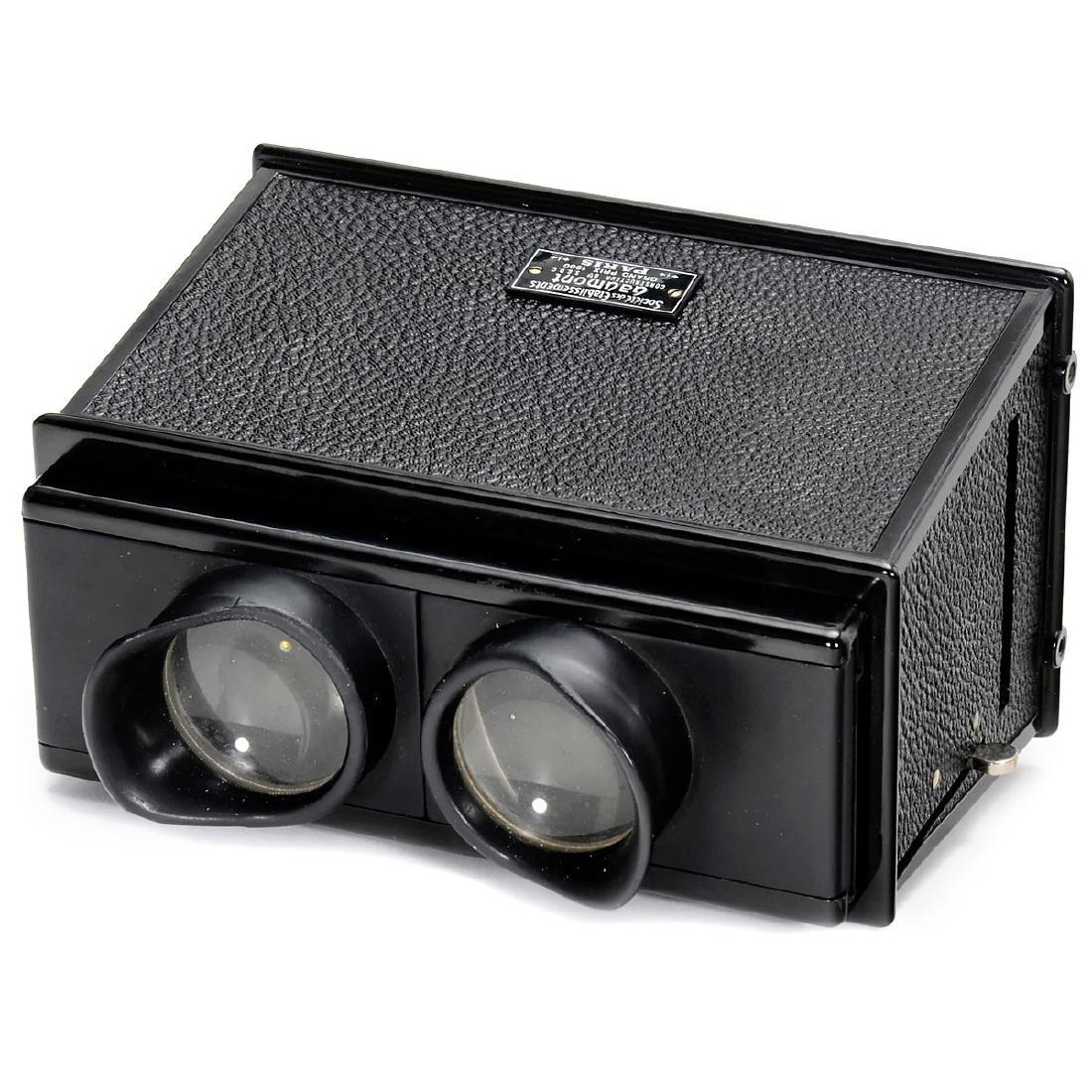 Gaumont Stereo Viewer 6 x 13, c. 1920