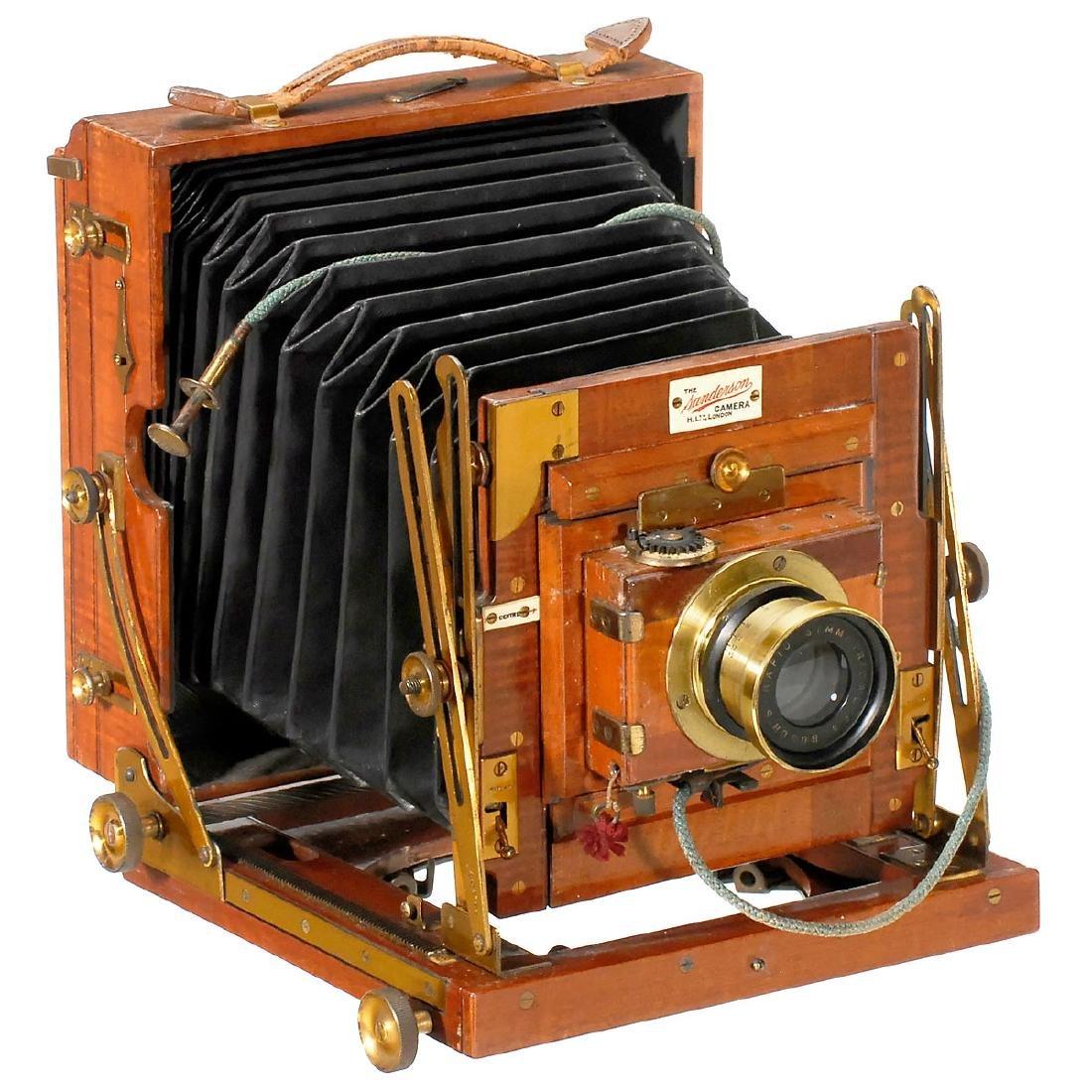 "The Sanderson Camera"" (Half Plate), c. 1898"