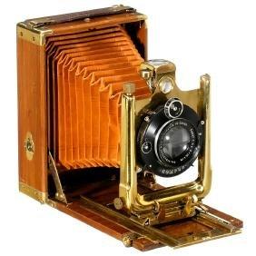 "Luxury Tropical ""Phönix"" Camera by Kenngott, c. 1924"