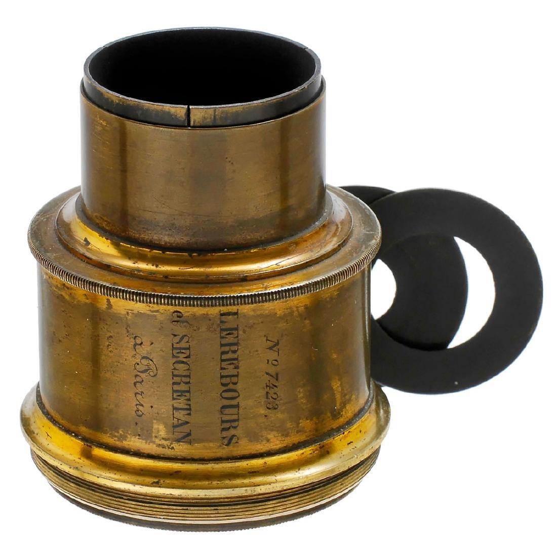 Daguerreotype Lens by Lerebours et Secretan, c. 1855
