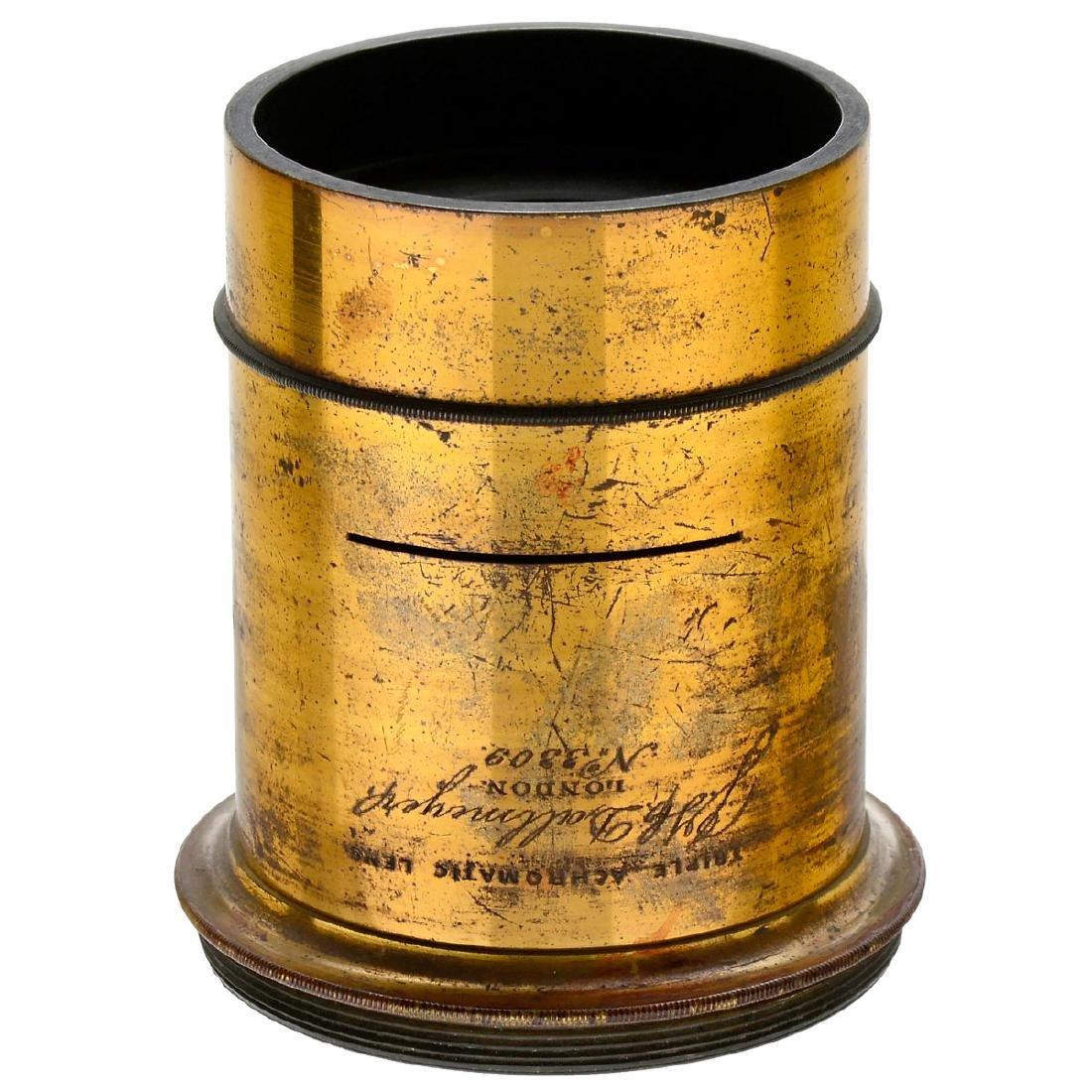 J.H. Dallmeyer Triple Achromatic Lens, c. 1858