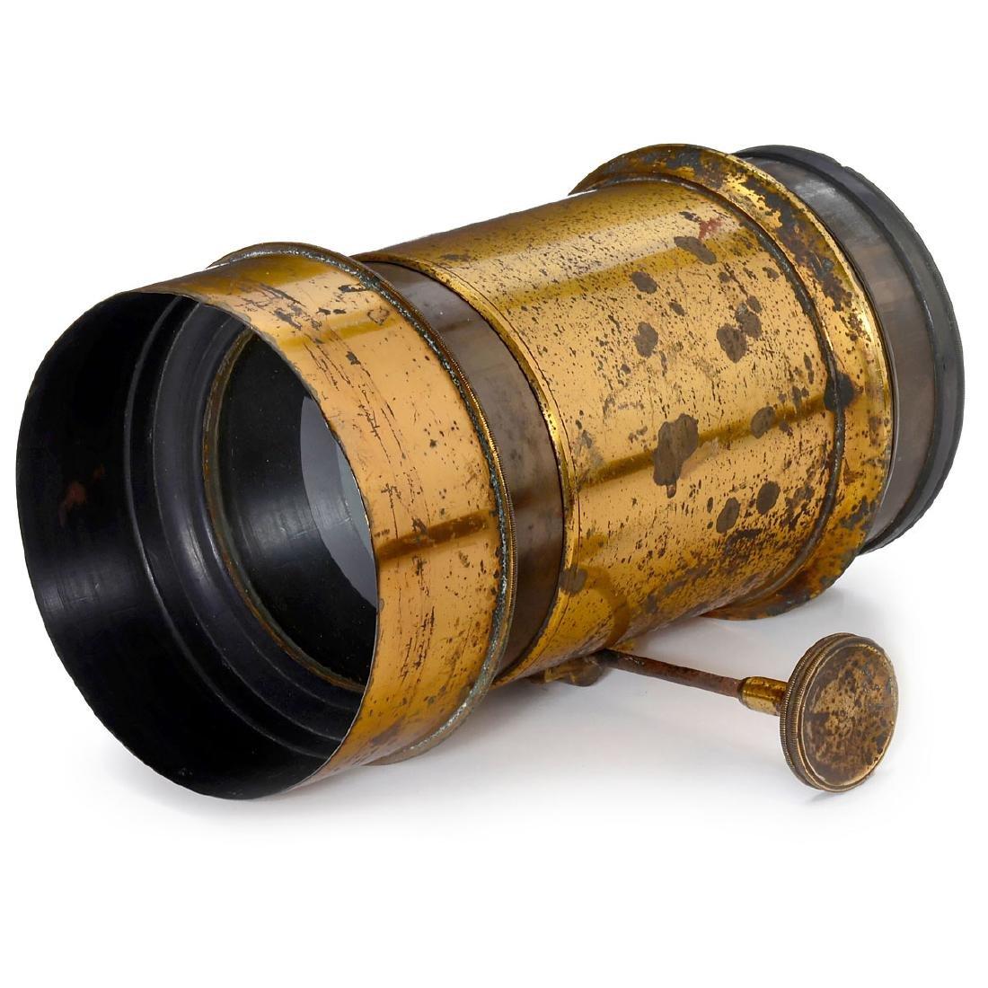 Petzval-Type Lens by James Davidson, Scotland, c. 1855