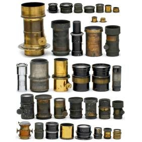 Large Lot of Lenses (for Restoration and Spare Parts)