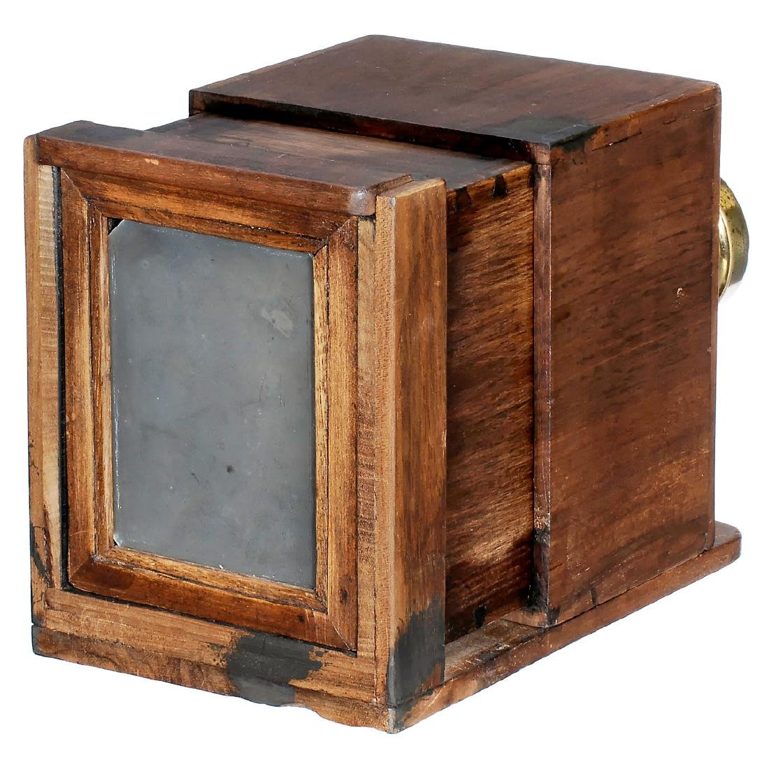 Wet-Plate Sliding Box Camera with Jamin and Darlot - 2