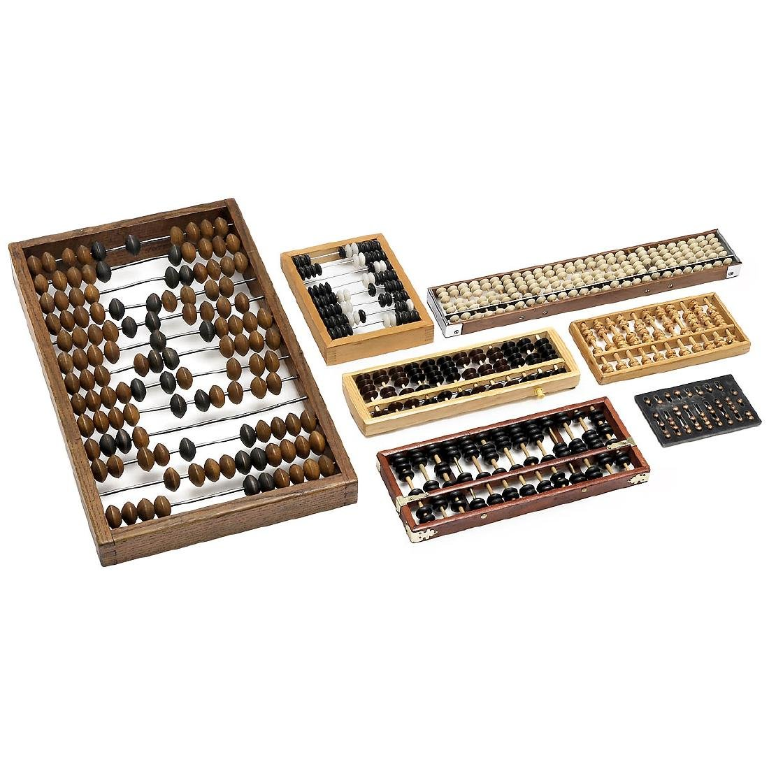 """Collection of 7 """"Abacus"""""""