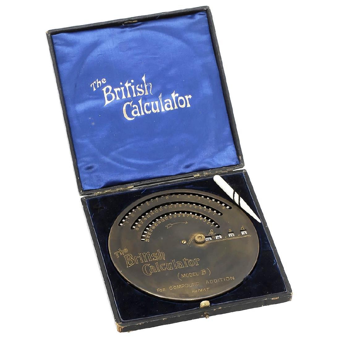 BriCal – The British Calculator Mod. B, 1905