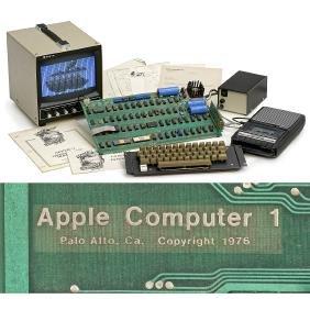 Original Apple-1 Computer, 1976