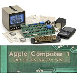 Original Apple-1 Computer, 1976