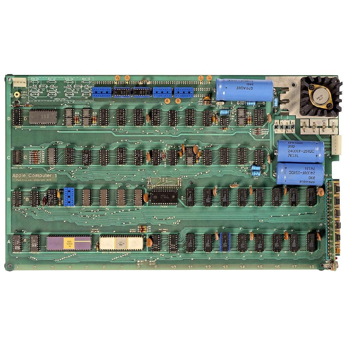 Original Apple-1 Computer, 1976 - 3