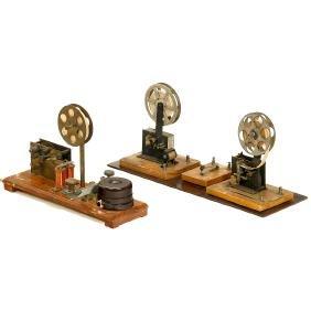 3 Toy Telegraphs, c. 1915