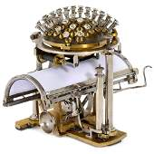 "Malling-Hansen ""Writing Ball"", 1867"