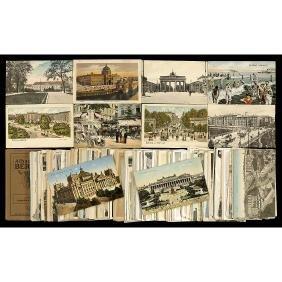 9x14cm Postcards of Berlin