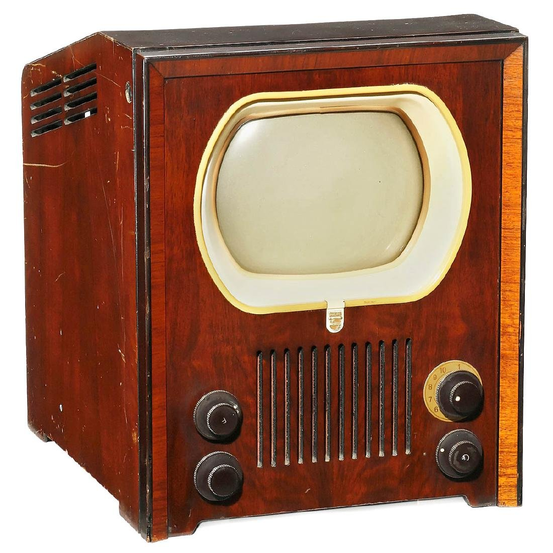 philips tx400u tv receiver, 1951 may 20, 2017 auction team