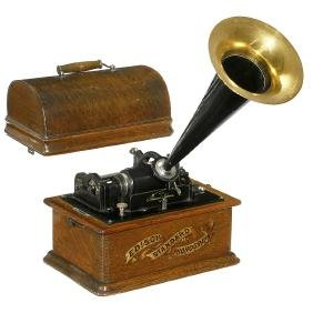Edison Standard Model A Phonograph, c. 1902