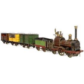Snelheid Live-Steam Model of the First Dutch Railway
