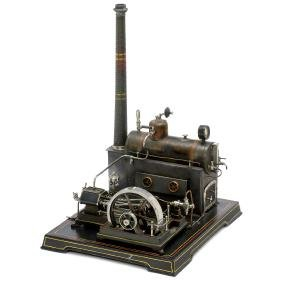 Doll Double-Cylinder Steam Engine, c. 1927