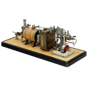 Steam Ship Engine Precision Model