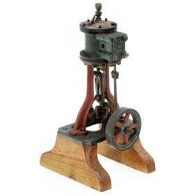 Model of a Single-Cylinder Steam Motor, c. 1920