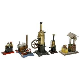 Steam Engines and Steam Toy, 1925 onwards