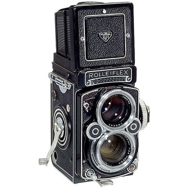 5: Rolleiflex 2,8F, 1960