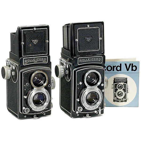 20: 2 Rolleicord Cameras