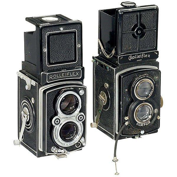 24: 2 Rolleiflex Cameras