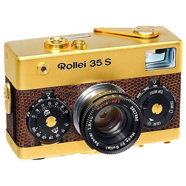 33: Rollei 35 S 24 Carat Gold, 1979